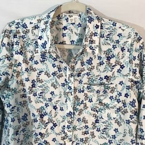 Coldwater Creek Button Front Blouse Top